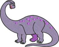 Brachiosaurus dinosaur-Dinosaur embroidery, Brachiosaurus, brachiosaurus embroidery, machine embroidery designs