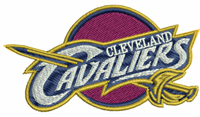 Cleveland Cavaliers-Basketball, Cleveland, Cavaliers, sports, machine embroidery, embroidery, sports embroidery, basketball embroidery