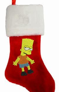 Homer Christmas stocking
