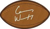 Carson Wentz football