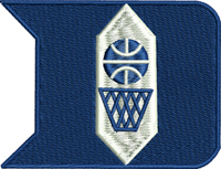 Duke-Duke, basketball, machine embroidery, sports embroidery, embroidery