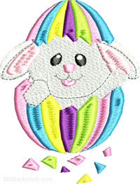 Easter Egg Rabbit