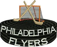 Flyers goal post