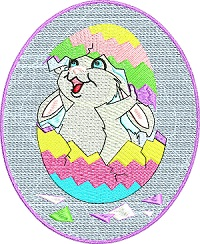 Hatching Easter Rabbit