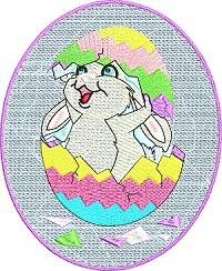 Hatching Easter Rabbit
