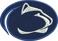 Penn State-Basketball, embroidery, penn state, sports embroidery, embroidery