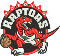 Toronto Raptors-Raptors, Toronto, basketball, sports embroidery, embroidery, machine embroidery