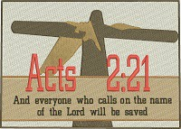 Acts  221-Acts 221 bible verse cross machine embroidery embroidery Christian Christian embroidery