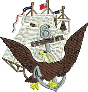 American freedom-American, freedom,machine embroidery, America