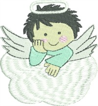 Angel Baby-Angel, baby, baby embroidery, angel embroidery, infant embroidery, machine embroidery, newborn embroidery, embroidery designs, embroidery, child embroidery
