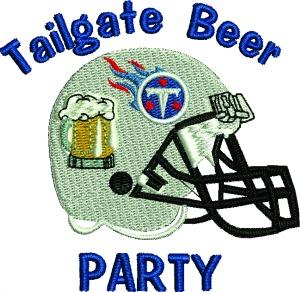 Football Tailgate Party Titans Machine Embroidery Pattern-football tailgate titans helmet football helmet