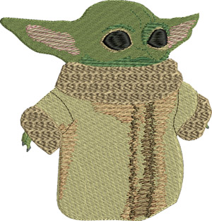 Baby yoda-Baby,yoda,starwars,movie,machine embroidery, embroidery designs