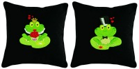 Wedding Embroidered Accent Pillow Set