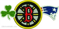 Boston Pride-Boston pride, Boston embroidery, Sports embroidery, New England embroidery, Celtics embroidery, Bruins Embroidery, Patriots embroidery, machine embroidery