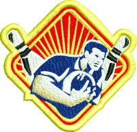 Bowling Patch-
