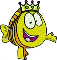 Bubble Guppies King Fish