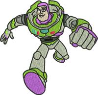 Buzz Lightyear-Buzz, light year, toy, story, machine embroidery