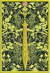 Celtic Sword-Celtic Celtic Sword machine embroidery embroidery sword IrishIreland