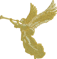 Christmas Angel-Angels, Angel embroidery, machine embroidery, Christmas Angel