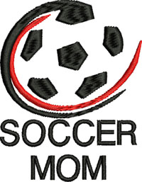 Cool Soccer Mom-Soccer Mom, Soccer, Soccer sports, machine embroidery, soccer embroidery, sports embroidery, soccer mom embroidery, stitchedinfaith.com