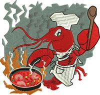 Crawfish chef