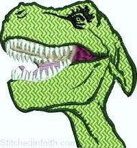 Dinosaurus head
