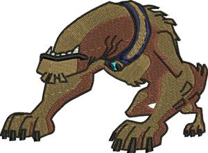 Dog Nabbit-Dog, Nabbit, Ben, 10, machine embroidery, Children