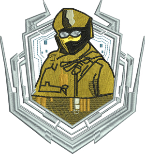 EMBLEM CALL OF DUTY-Duty, Call, Emblem, games, computer, machine embroidery