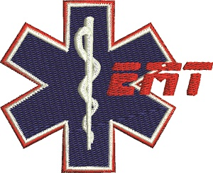 Emt Machine Embroidery Badge