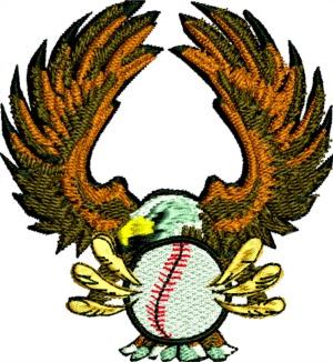 Baseball American Eagle-Baseball American eagle american eagle baseball machine embroidery