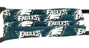 Eagles face masks-EAGLES, FACE MASKS. FACE, FOOTBALL