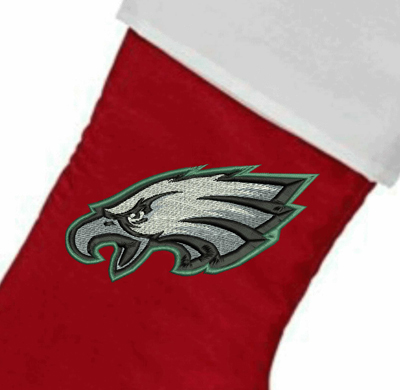EaglesPersonalized  Christmas Stocking