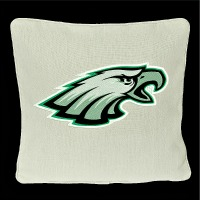Embroidered Eagles Throw Pillows-Pillows Eagles Pillows Throw pillows embroidered pillows stitchedinfaith.com