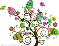 Beautiful Egg Tree