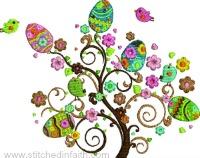 Beautiful Egg Tree