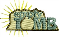 Empty Tomb-Jesus embroidery, tomb embroidery, empty tomb, Jesuss tomb, machine embroidery, Christian embroidery