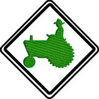 Farm Tractor-Farm tractor tractor farm machine embroiderystitchedinfaith.com