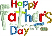 Fathers Day Tools-Fathers day, Fathers embroidery, machine embroidery, Holiday embroidery, Fathers Day. Dad, tools