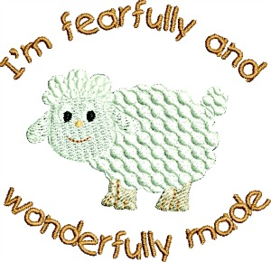 Lamb I'm Fearfully And Wonderful Made