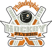 Flyers goalie hockey-Hockey, goalie, flyers, sports,machine embroidery,embroidery designs