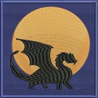 Full moon dragon