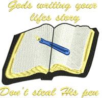 Gods writing