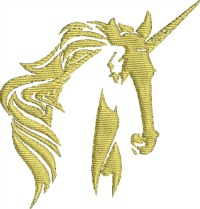 Golden Unicorn-Unicorn golden unicorn unicorn embroidery embroidery machine embroidery stitchedinfaith.com