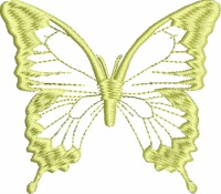 Golden Butterfly-Butterfly golden butterfly gold work machine embroidery machine embroidery designs butterfly machine embroidery stitchedinfaith.com