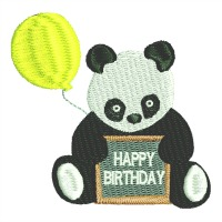 Happy Birthday Panda-