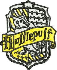 Hufflepuff-Hufflepuff, machine embroidery, embroidery, harry, potter, embroidery designs