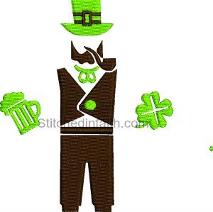 Invisible Irish man