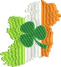 Ireland-Ireland, St. Patricks Day, Ireland country, Irish embroidery, machine embroidery