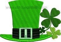 Irish Hat and clover