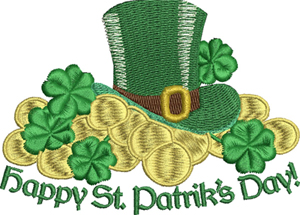 Irish Gold Coins-Irish, Coins, Ireland, St. Patricks Day, Ireland, Celtic